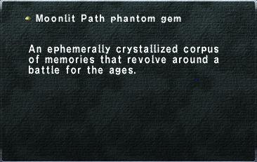 Moonlit Path phantom gem