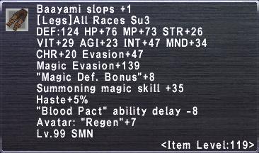 Baayami Slops +1