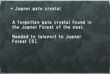 Jugner Gate Crystal