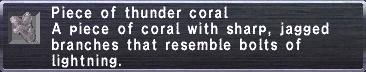 Thunder coral
