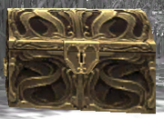 Emblazoned Reliquary-Gold