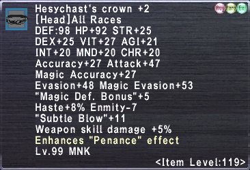 Hesychast's crown +2