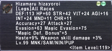 Hizamaru Hizayoroi