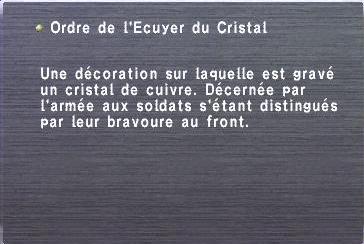 Ordre de l'Ecuyer du Cristal