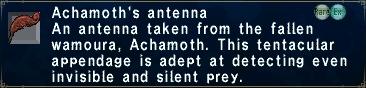 Achamoth's Antenna