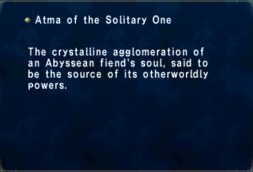 Atma of the Solitary One