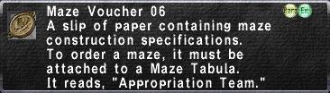 Maze Voucher 06