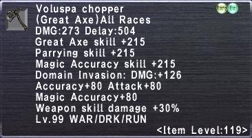Voluspa Chopper
