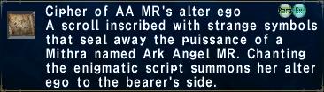 Cipher ark mr