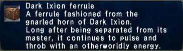 Dark Ixion Ferrule