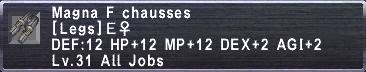 Magna F Chausses