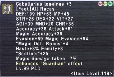 Caballarius leggings +3