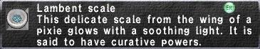 Lambent scale