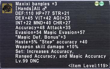 Maxixi Bangles +3 ♂