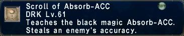 Absorbacc