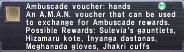 Ambuscade Voucher-Hands
