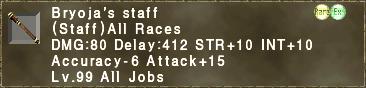 Bryoja's staff