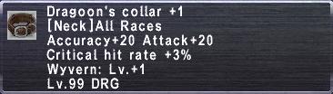 Dragoon's Collar +1