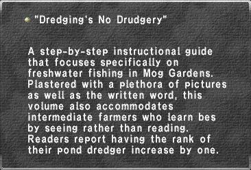 Dredging's No Drudgery