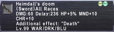 Heimdall's Doom