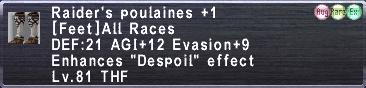 Raider's Poulaines +1