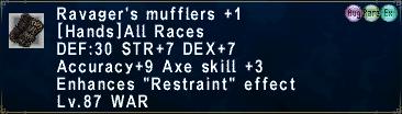 Ravager's Mufflers +1