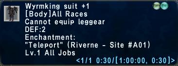 Wyrmking Suit +1