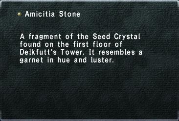 Amicitia Stone