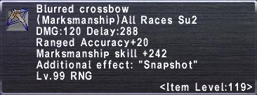 Blurred Crossbow
