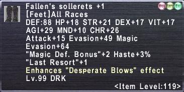 Fallen's Sollerets Plus 1