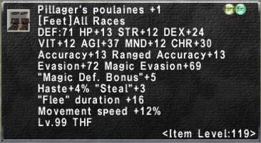 Pillager's Poulaines +1