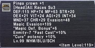 Pinga Crown +1