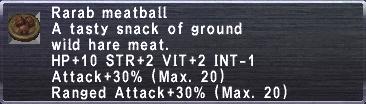 Rarab Meatball