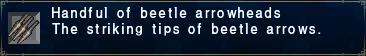 Beetle Arrowheads