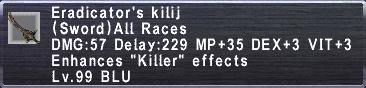 Eradicator's Kilij