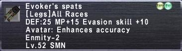 Evokers Spats