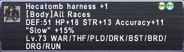 Hecatomb harness p1