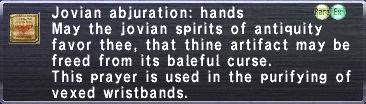 Jovian Abjuration Hands