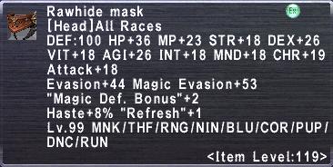Rawhide Mask