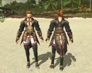 Runeist Coat Set