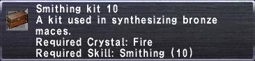 Smithing Kit 10