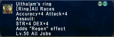 Ulthalam's Ring