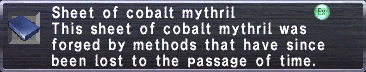 Cobalt Mythril