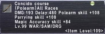 Concido Course