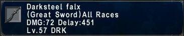 Darksteel Falx