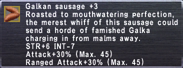 Galkan Sausage +3