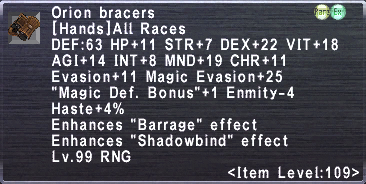 Orion Bracers