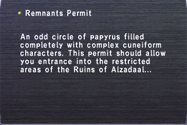 RemnantsPermit