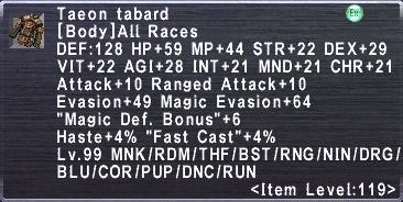 Taeon Tabard