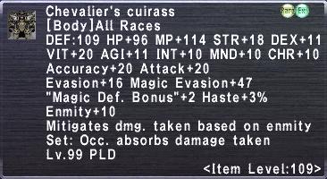 Chevalier's Cuirass